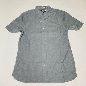Reyn Spooner Mens Hawaian Shirt Size Medium Solid